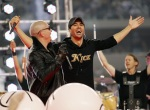Pitbull and Enrique Iglesias in concert