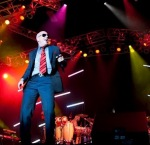 Pitbull (rapper) (entertainer) live performance