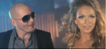 "Pitbull and Sophia Del Carmen in ""No Te Quiero"" music video"
