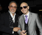 Emilio Estefan and Pitbull (rapper) (entertainer)