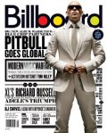 Pitbull (rapper) (entertainer) on the cover of Billboard Magazine, 2011