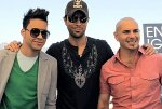 Prince Royce, Enrique Iglesias, and Pitbull (rapper) (entertainer)