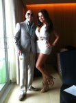 Pitbull (rapper) (entertainer) and Nayer