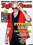 Pitbull on the cover of Rolling Stone magazine